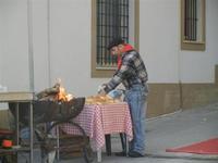 preparazione grigliata e panini 8 gennaio 2012  - Marinella di selinunte (1376 clic)