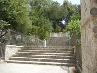 Giardino del Balio - scalinata - 5 agosto 2012  - Erice (464 clic)