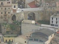 panorama dal Belvedere - scorcio della città - 22 gennaio 2012  - Castellammare del golfo (333 clic)