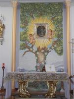 Santuario Madonna del Romitello - interno - 9 maggio 2012  - Borgetto (1120 clic)