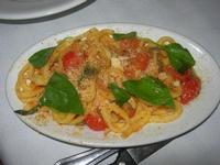 linguine con pomodorini, olive e capperi - Bosco di Scorace - Il Contadino - 13 maggio 2012  - Buseto palizzolo (568 clic)