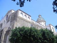 Chiesa e cupola del Carmine - 6 settembre 2012  - Sciacca (435 clic)