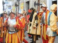 Corteo Rievocazione Storica dell'investitura a 1° Principe della Città di Carlo d'Aragona e Tagliavia - 26 maggio 2012  - Castelvetrano (317 clic)