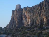 falesia e torre di avvistamento - 19 agosto 2012  - Macari (521 clic)