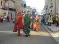 Corteo Rievocazione Storica dell'investitura a 1° Principe della Città di Carlo d'Aragona e Tagliavia - 26 maggio 2012  - Castelvetrano (288 clic)