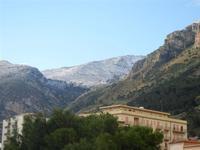 la neve sui monti - 14 febbraio 2012  - Castellammare del golfo (352 clic)
