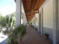Santuario Madonna del Romitello - porticato - 9 maggio 2012  - Borgetto (969 clic)