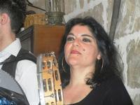 SIKANIA - Compagnia di canto e musica popolare - Giuseppina Priolo (tamburello e voce solista) e  Michele Ditta (fisarmonica) - Bosco di Scorace - Il Contadino - 13 maggio 2012  - Buseto palizzolo (833 clic)