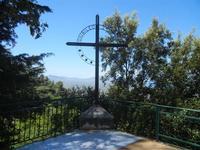 Santuario Madonna del Romitello - Croce Giubileo 2000 - 9 maggio 2012  - Borgetto (926 clic)