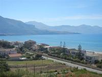Zona Plaja - panorama ovest del Golfo di Castellammare - 11 giugno 2012  - Alcamo marina (323 clic)