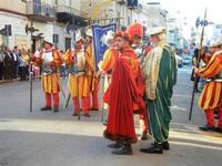 Corteo Rievocazione Storica dell'investitura a 1° Principe della Città di Carlo d'Aragona e Tagliavia - 26 maggio 2012  - Castelvetrano (273 clic)