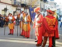 Corteo Rievocazione Storica dell'investitura a 1° Principe della Città di Carlo d'Aragona e Tagliavia - 26 maggio 2012  - Castelvetrano (274 clic)