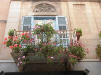 balcone fiorito in via della Cuba - 13 maggio 2012  - Trapani (570 clic)