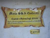 insegna - Maria SS. di Custonaci - 25 aprile 2012  - Erice (426 clic)