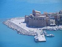Castello a Mare dal Belvedere - 27 agosto 2012  - Castellammare del golfo (949 clic)