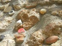 Cortile Carini - Laboratorio di Cocci per bambini - particolare - 6 settembre 2012  - Sciacca (366 clic)