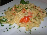 busiate con uova di pesce San Pietro - La Cambusa - 11 marzo 2012  - Castellammare del golfo (941 clic)