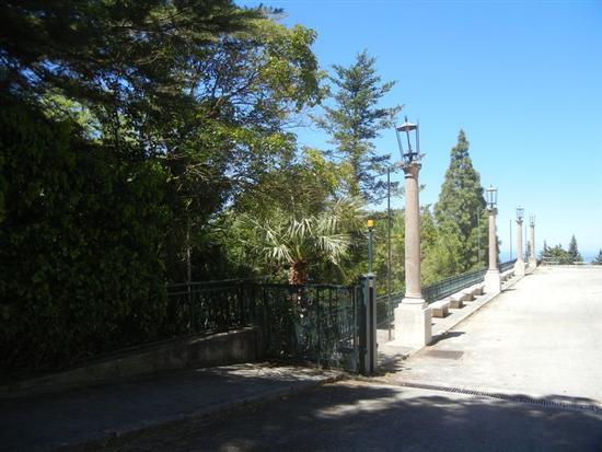 Santuario Madonna del Romitello - piazzale e pineta  - BORGETTO - inserita il 13-Nov-14
