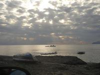 pescatori ed Isola di Favignana - 15 gennaio 2012  - Nubia (441 clic)
