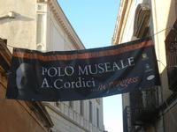striscione Polo Museale A. Cordici - 25 aprile 2012  - Erice (462 clic)