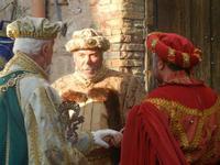 Corteo Rievocazione Storica dell'investitura a 1° Principe della Città di Carlo d'Aragona e Tagliavia - 26 maggio 2012  - Castelvetrano (1172 clic)