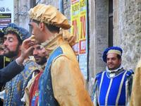 Corteo Rievocazione Storica dell'investitura a 1° Principe della Città di Carlo d'Aragona e Tagliavia - 26 maggio 2012  - Castelvetrano (289 clic)