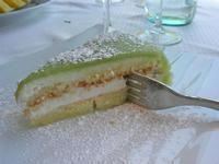 fetta di cassata siciliana - La Cambusa - 6 maggio 2012  - Castellammare del golfo (1288 clic)