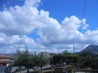 nuvole e monte Bonifato - 4 settembre 2012  - Alcamo (1028 clic)