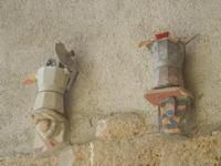 Cortile Carini - Laboratorio di Cocci per bambini - particolare - 6 settembre 2012  - Sciacca (382 clic)