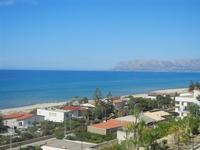 Zona Plaja - panorama est del Golfo di Castellammare - 11 giugno 2012  - Alcamo marina (312 clic)
