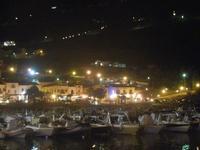 porto e città - panorama notturno - 6 settembre 2012  - Castellammare del golfo (290 clic)