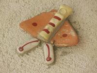 Cortile Carini - Laboratorio di Cocci per bambini - particolare - 6 settembre 2012  - Sciacca (411 clic)