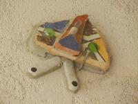 Cortile Carini - Laboratorio di Cocci per bambini - particolare - 6 settembre 2012  - Sciacca (376 clic)