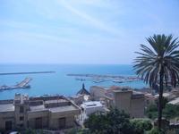 il porto - panorama da Piazza Angelo Scandaliato - 6 settembre 2012  - Sciacca (320 clic)