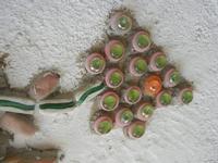 Cortile Carini - Laboratorio di Cocci per bambini - particolare - 6 settembre 2012  - Sciacca (397 clic)