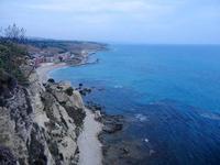 panorama costiero dal Belvedere - 6 settembre 2012  - Sciacca (647 clic)