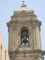 campanile della Chiesa Parrocchiale di San Giuliano  - 5 agosto 2012  - Erice (322 clic)