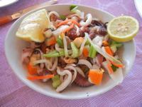 insalata di mare - Frutti di Mare da Giovanni - 26 agosto 2012  - Balestrate (815 clic)