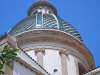 cupola della Chiesa del Carmine - 6 settembre 2012  - Sciacca (1228 clic)