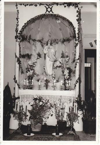 il simulacro della Madonna in casa - ALCAMO - inserita il 30-May-14