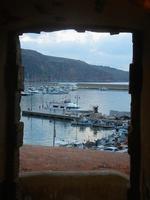 finestra sul porto - 19 settembre 2012  - Castellammare del golfo (363 clic)