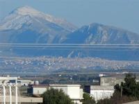 neve sui monti palermitani - 17 febbraio 2012  - Alcamo (464 clic)