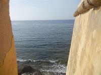 Bastione Conca - vista sul mare - 13 maggio 2012  - Trapani (440 clic)