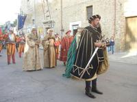 Corteo Rievocazione Storica dell'investitura a 1° Principe della Città di Carlo d'Aragona e Tagliavia - 26 maggio 2012  - Castelvetrano (451 clic)