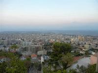 panorama città dal Monte Bonifato e Golfo di Castellammare - lato est - 10 settembre 2012  - Alcamo (267 clic)