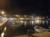 porto e città - panorama notturno - 6 settembre 2012  - Castellammare del golfo (670 clic)