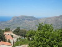 Santuario Madonna del Romitello - panorama fino al mare - 9 maggio 2012  - Borgetto (872 clic)
