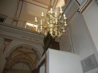 Chiesa Madre di Sant'Anna - lampadario ed organo - 3 luglio 2012  - Balestrate (829 clic)
