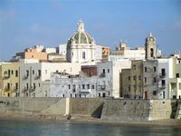 Bastione Conca - panorama case sul lungomare - 13 maggio 2012  - Trapani (481 clic)