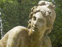 Fontana di Venere nel giardino del Balio - particolare - 5 agosto 2012  - Erice (409 clic)